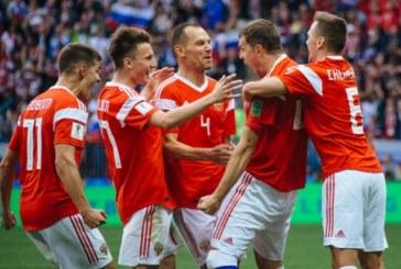 Сборная России поднялась на 43 место в рейтинге ФИФА