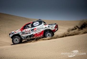 Аль-Аттия стал быстрейшим на первом этапе «Дакара», Николаев захватил лидерство в зачете грузовиков