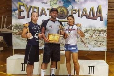 Боксёрская «Евпаториада»: два золота едут в Петербург