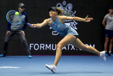 Мария Шарапова успешно стартовала на турнире в Санкт-Петербурге