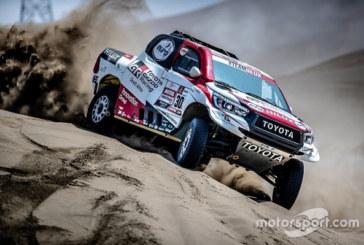 Алонсо попросился за руль Toyota для «Дакара»