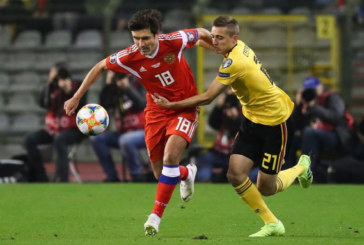 Отборочный матч ЧМ-2020 Россия — Бельгия пройдет в Санкт-Петербурге