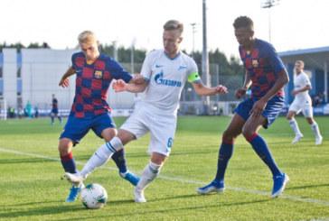 Молодёжный состав «Зенита» обыграл «Барселону» U19 в товарищеском матче