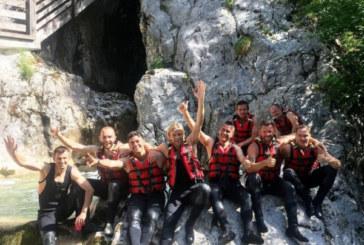 Семак вместе с тренерским штабом «Зенита» во время сбора побывали в горах