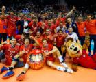Сборная России по волейболу обыграла Иран в Петербурге и вышла на Олимпиаду-2020