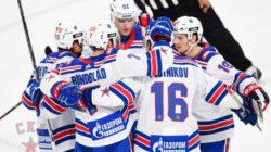 СКА обыграл «Металлург» в первом матче регулярного чемпионата КХЛ