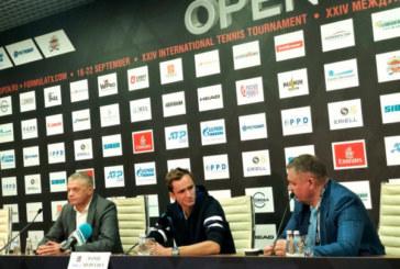 Даниил Медведев: «Обожаю играть в России, надеюсь, что смогу показать свой лучший теннис»