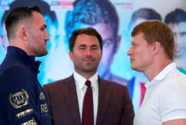 Российский тяжеловес Александр Поветкин уже завтра проведёт бой с британцем Хьюи Фьюри,