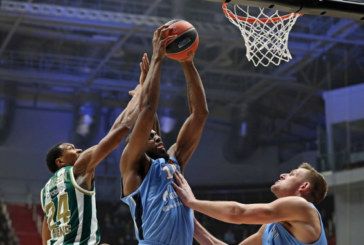 Баскетбольный «Зенит» в домашнем матче уступил «Панатинаикосу» в Евролиге