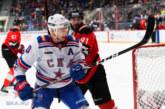 Петербургский СКА уступил омскому «Авангарду»  в матче чемпионата КХЛ