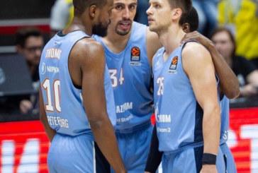 Баскетбольный матч Зенит-Астана в рамках Единой лиги ВТБ