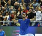 Так побеждают чемпионы. Хачанов начал защиту титула в Москве, отыграв пять матчболов