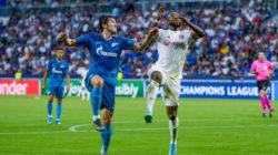 Петербургский «Зенит» одержал уверенную победу над французским «Лионом»