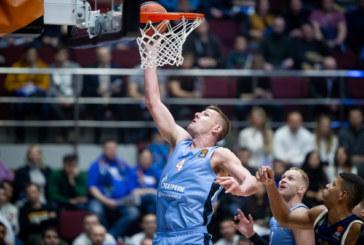 Баскетбольный «Зенит» встретится сегодня с «Пармой» в Единой Лиге ВТБ