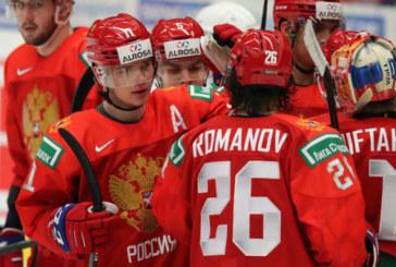 Пять хоккеистов СКА вошли в сборную России на Шведские игры