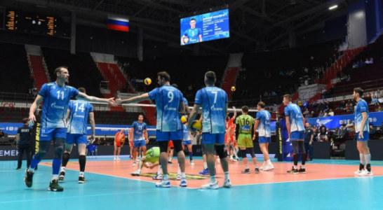 Сегодня – «новогодний» матч волейбольного петербургского «Зенита»