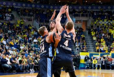 Баскетбольный «Зенит» одержал победу над «Фенербахче» в рамках Евролиги