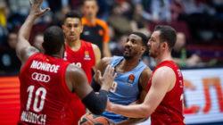 Баскетбольный «Зенит» уступил мюнхенской «Баварии» в Санкт-Петербурге