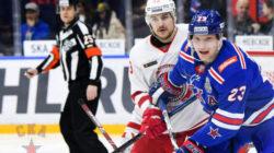 СКА разгромил «Витязь» в первом матче плей-офф Кубка Гагарина