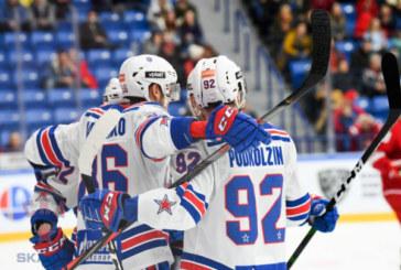 СКА обыграл «Витязь» в третьем матче серии плей-офф