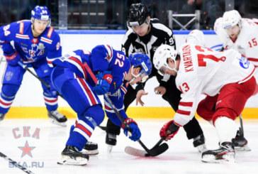 СКА обыграл «Витязь» и во втором матче серии плей-офф КХЛ