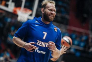 Антон Понкрашов покинул петербургский баскетбольный «Зенит»
