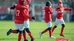 Московский «Спартак» поддержал юных петербургских футболистов