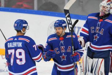 СКА начинает своё выступление в Кубке чемпионов КХЛ
