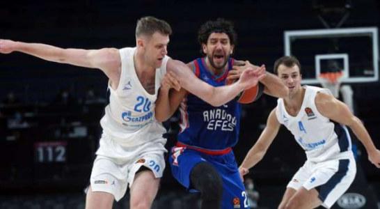 Баскетбольный «Зенит» стартовал с победы в новом сезоне Евролиги