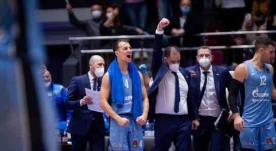 Баскетбольная Евролига отменила «Зениту» технические поражения