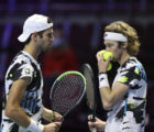 Российские теннисисты пробились во второй круг турнира St. Petersburg Open 2020