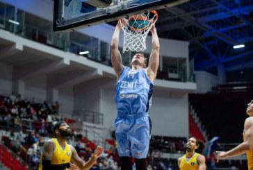 Баскетбольный «Зенит» проведет сегодня матч Евролиги «Олимпиакосом»