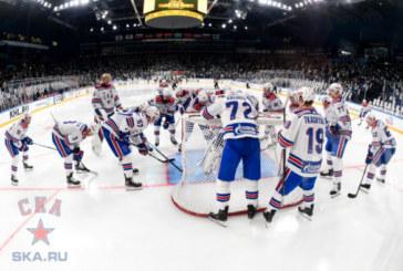 СКА сыграет в выездной встрече с «Торпедо» в матче КХЛ
