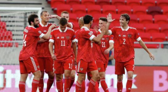 Сборная России поднялась на 32-е место в рейтинге ФИФА
