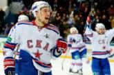 Форвард СКА Антон Бурдасов установил новый рекорд в КХЛ