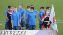 Петербургские паралимпийцы готовятся к первенству страны по футболу