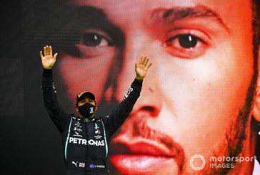 Фото дня: Хэмилтон обогнал Шумахера по победам в Формуле 1