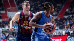 Баскетбольный «Зенит» сыграет сегодня перенесенный матч против испанской «Басконии»