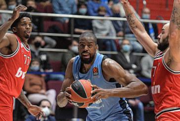 Баскетбольный «Зенит» потерпел поражение в матче Евролиги от «Олимпиакоса»