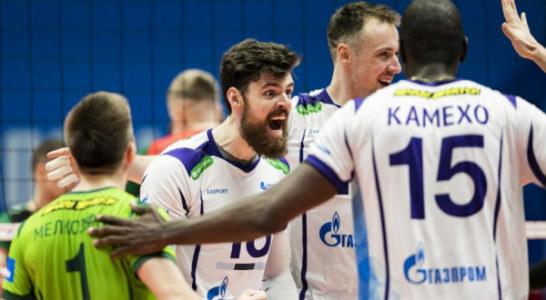 Петербургский волейбольный «Зенит» обыграл чемпиона России