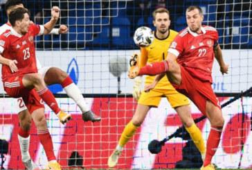 Сборная России сыграла вничью с Турцией в Лиге наций УЕФА