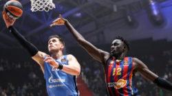 «Зенит» обыграл «Басконию» в матче Евролиги