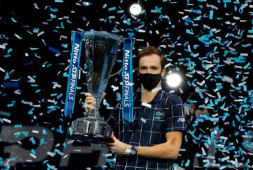 Генеральный директор теннисного турнира в Петербурге о победе Даниила Медведева на итоговом турнире ATP