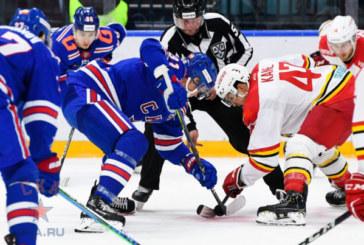 СКА проиграл «Куньлунь» впервые в истории КХЛ
