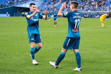 Пятерых игроков «Зенита» вызвали в сборную России