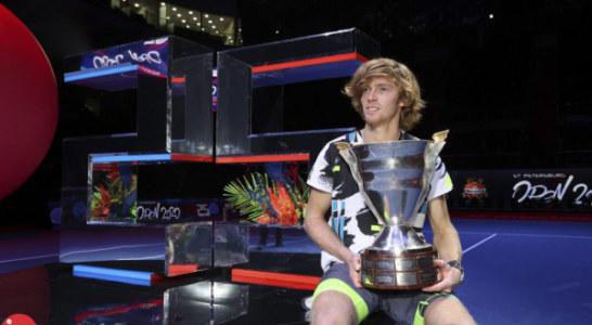 St.Petersburg Open 2020. Андрей Рублев отберется в этом году на итоговый турнир в Лондоне