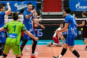 Трое игроков волейбольного «Зенита» – в сборной тура!