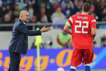 Черчесов рассказал, когда Дзюба сможет вернуться в сборную России
