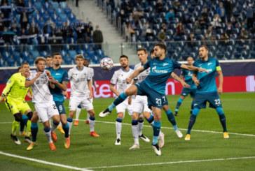 «Зенит» стартовал в Лиге чемпионов с поражения от «Брюгге»