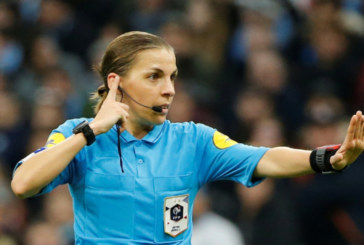 Матч Лиги чемпионов впервые в истории рассудит главный арбитр-женщина